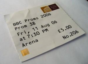 Prom 38 Ticket
