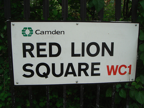 Red Lion Square, by russelldavies via flickr.com
