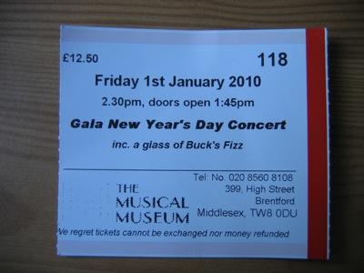 Gala Concert Ticket
