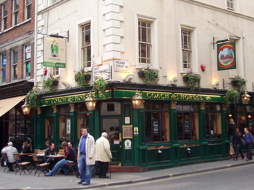 Coach & Horses, by Ewan-M via flickr.com