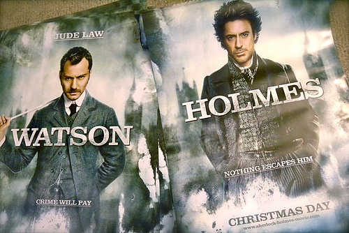 Sherlock Holmes Movie Posters, by miss604 via flickr