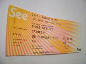 Three Sisters Ticket